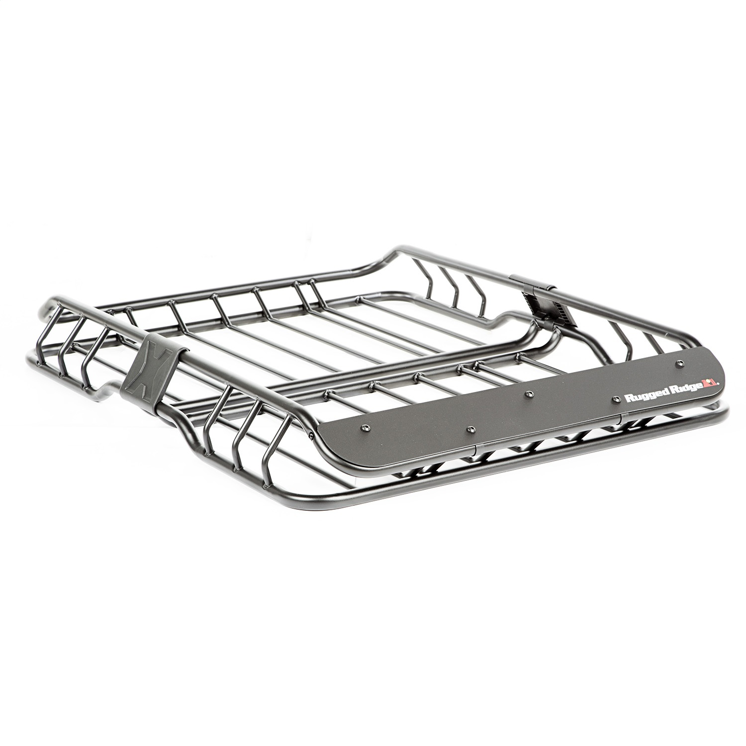 Rugged Ridge 11703 03 Spartacus Roof Rack Basket Black W
