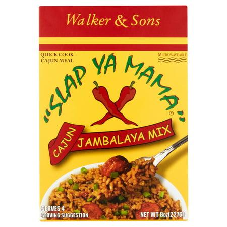 Walker   Sons Slap Ya Mama Cajun Jambalaya Mix  8 Oz