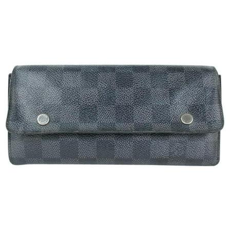Louis Vuitton DAMIER GRAPHITE MODULABLE Long WALLET 95LJ3