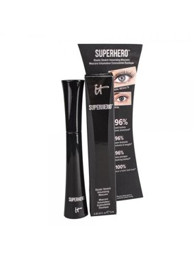 IT Cosmetics Superhero Elastic Stretch Volumizing Mascara, Black