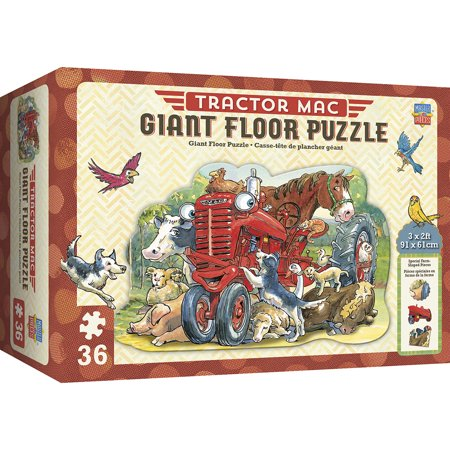 Tractor Mac - Giant Floor 36 Piece Floor Puzzle](Giant Floor Keyboard)