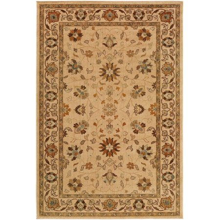 Traditional Willow Lodge Collection Area Rug in Multiple Color and Rectangle (Willow Collection)
