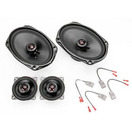 1990-1991 Oldsmobile Cutlass Supreme Elite Series Complete Vehicle Speaker Package Upgrade by Skar Audio