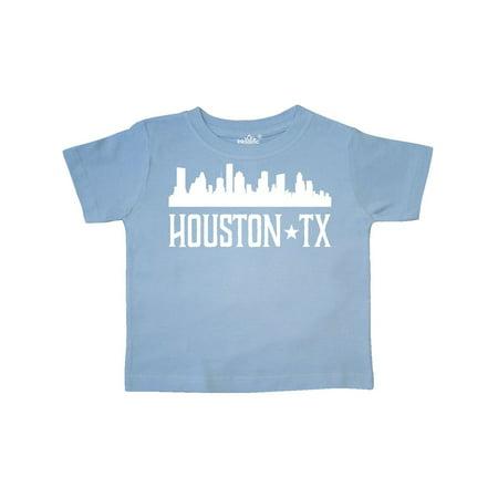 Houston Texas Skyline TX Cities Toddler T-Shirt - Halloween Houston Tx