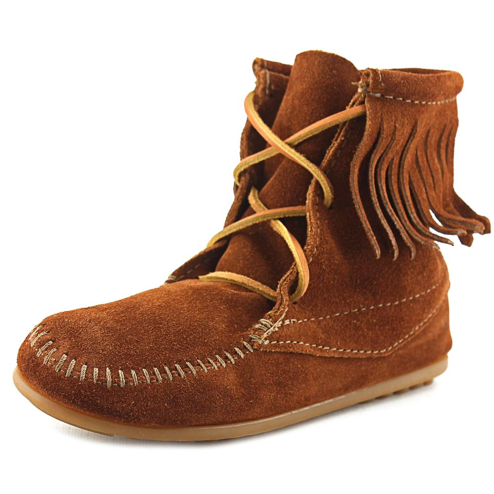 Minnetonka Tramper Boot Toddler Round Toe Suede Boot by Minnetonka
