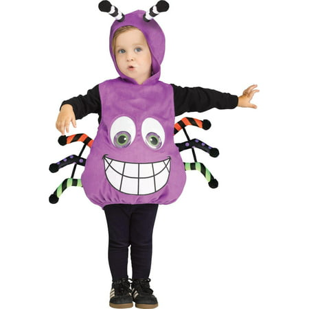 Spider Googly Eyes Infant Costume - Infant Spider Costume