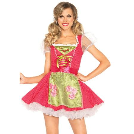 Leg Avenue Women's Beer Garden Gretel Costume, Pink, Large - Leg Avenue Bee Costume