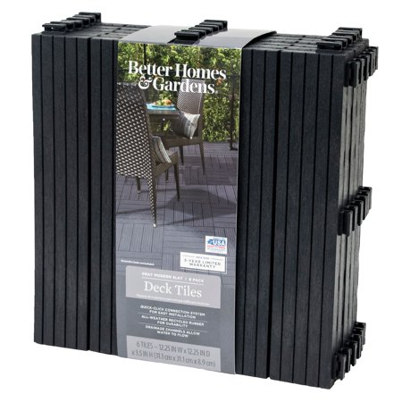 Better Homes & Gardens 12x12 Modern Deck Tile