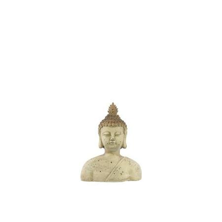Fiberstone Buddha Bust Small
