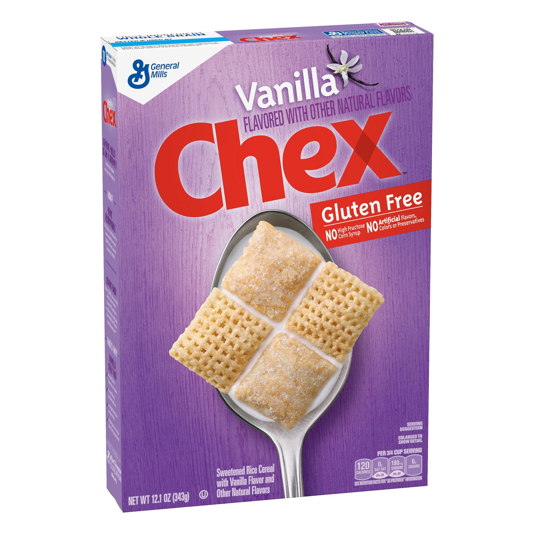 Vanilla Chex Cereal, Gluten-Free Cereal, 12.1 oz Box