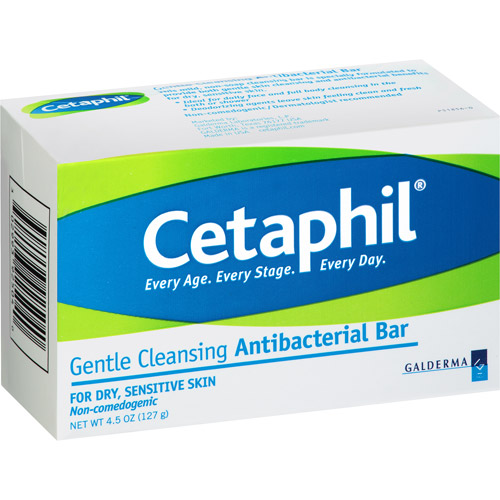 Cetaphil Antibacterial Bar, 4.5 oz