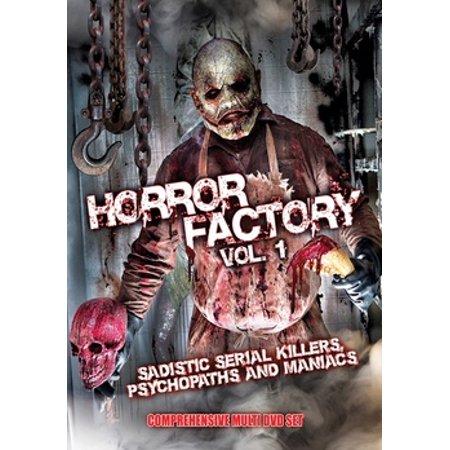 Horror Factory VI: Sadistic Serial Killers, Psychopaths & Maniacs (DVD)