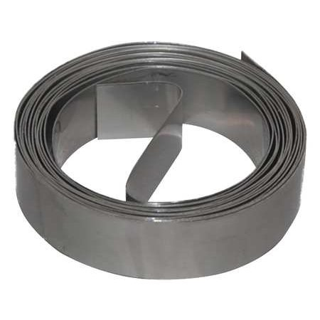 10' In Line Duct - DMC DS-241-10 Duct Strapping, 10 Ft L, Galv Steel