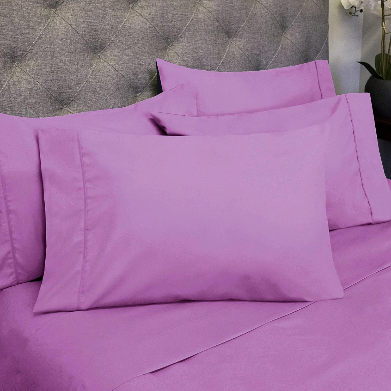 Luxury 6 Piece Bed Sheet Set Deep Pocket Egyptian Soft 1500 Thread Count Bedding