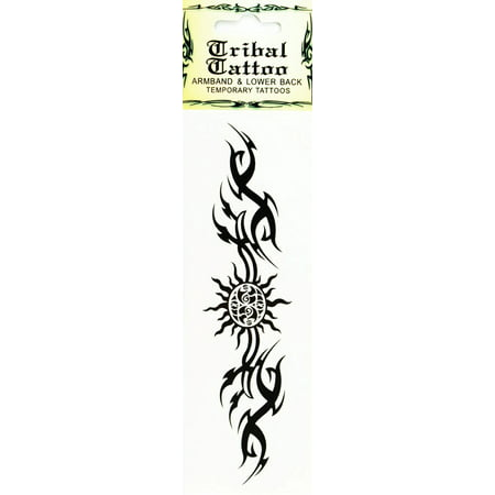 Temporary Tattoo  Armband & Lower Back Tribal Tattoo (Mighty)](Girly Back Tattoos)