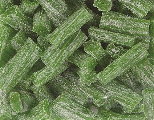 Its Delish Sour Green Apple Licorice Bits 5 lb Bulk by Its Delish