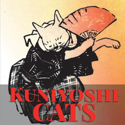 Kuniyoshi Cats : Japanese Woodblock Print Coloring Book for Stress Relief and Mindfulness