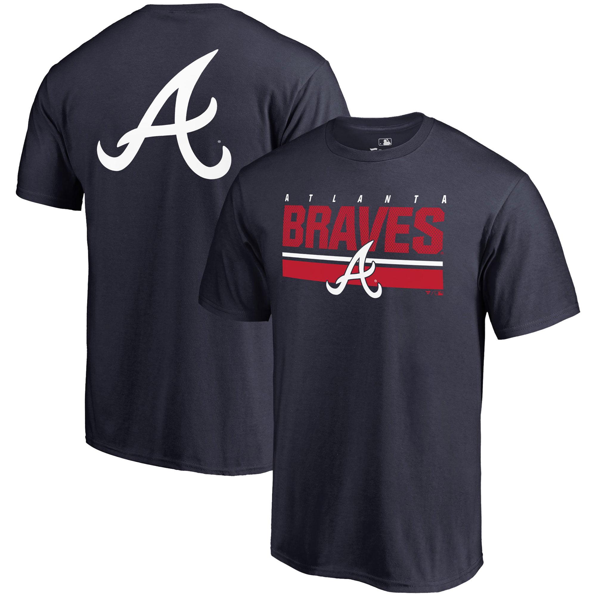 Atlanta Braves Fanatics Branded End Game T-Shirt - Navy