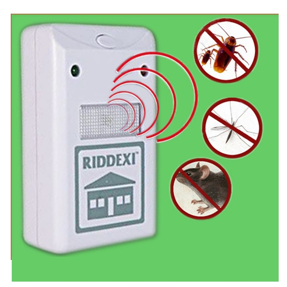 New Riddex Plus Electronic Pest Repeller Against Mouse/Mo...