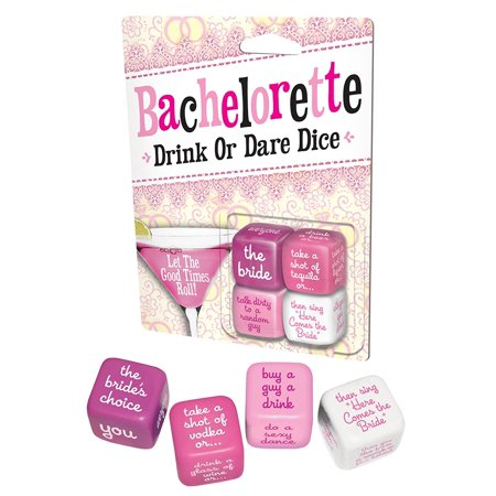 Game - Bachelorette - Drink Or Dare Dice Game New Licensed 2088](Bachelorette Koozies)