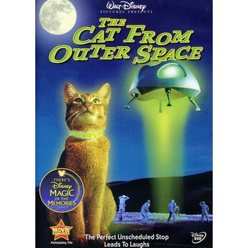 CAT FROM OUTER SPACE (DVD)