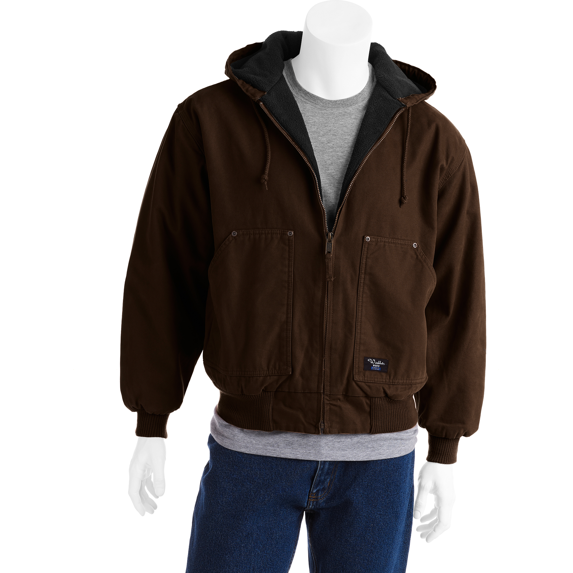 Walls - Big Men's Insulated Hooded Jacket, Size 2XL