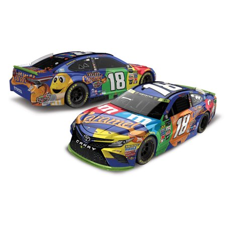Lionel Racing Kyle Busch #18 M&M'S Caramel New Hampshire Race Win 2017 Toyota Camry 1:24 Scale HOTO Die-cast Toyota Camry Se Car
