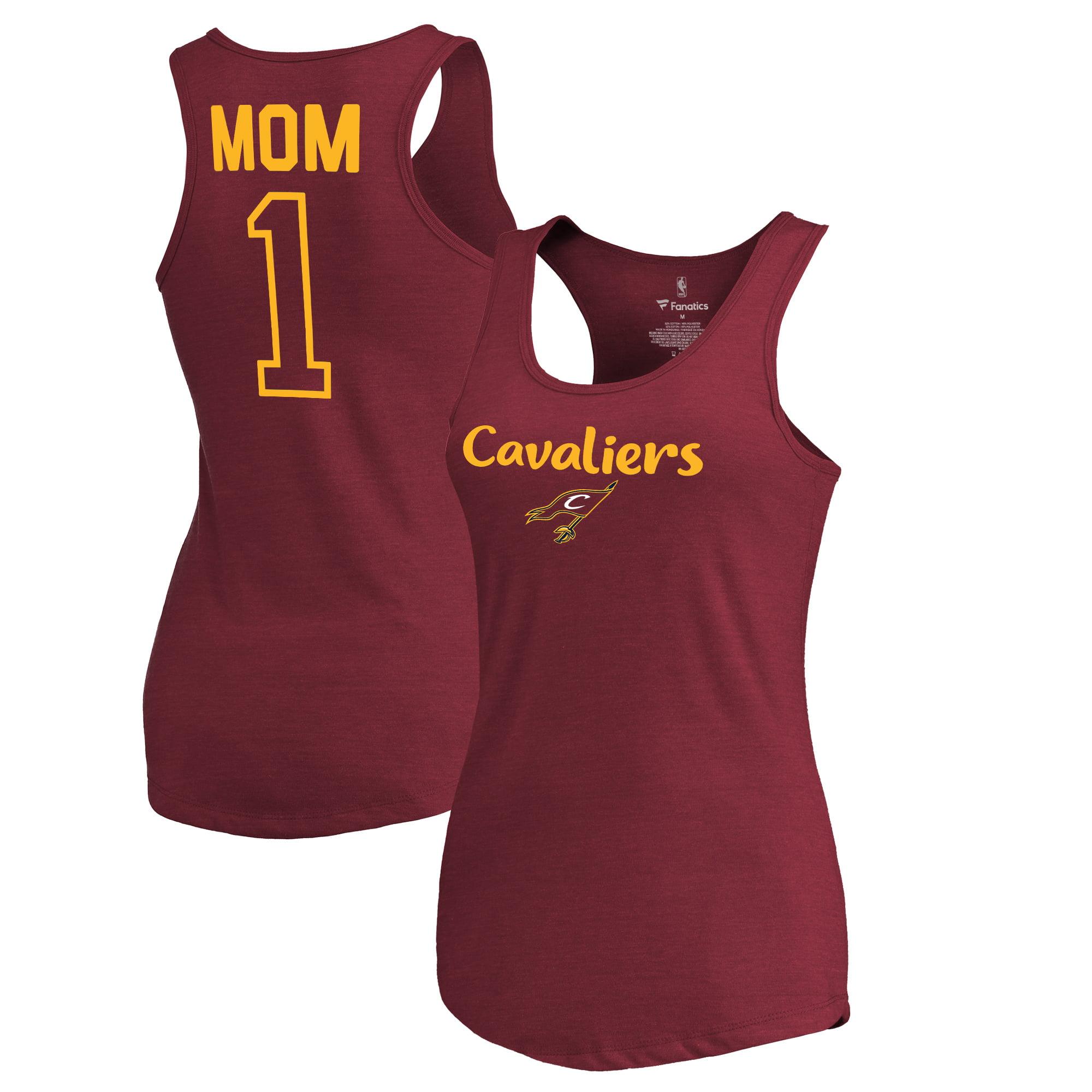 Cleveland Cavaliers Fanatics Branded Women's #1 Mom Tri-Blend Tank Top - Wine