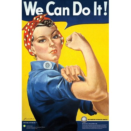Smithsonian- Rosie The Riveter Poster - 24x36