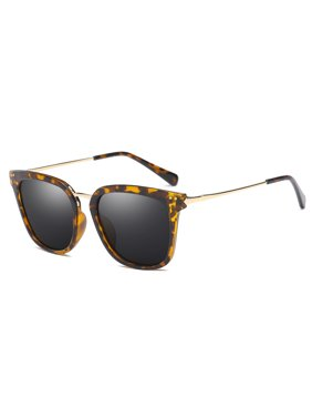 450afd44a0 Cyxus Fashion Tortoises Leopard Polarized Sunglasses for Women Girls