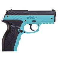 Crosman Wildcat Blue .177 Caliber Semi-Auto CO2 Air Pistol, 480fps