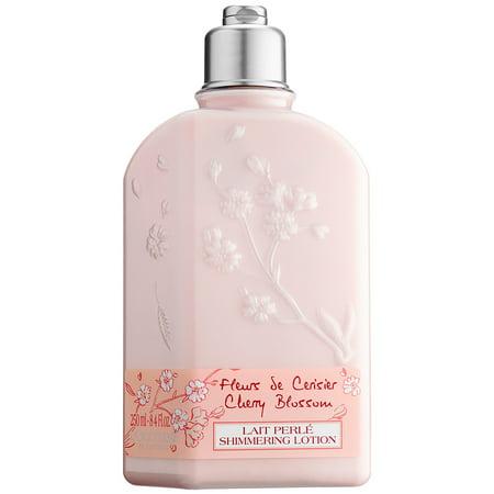 L'Occitane Cherry Blossom Body Lotion for Women, 8.4 Oz (Loccitane Men Day Care)
