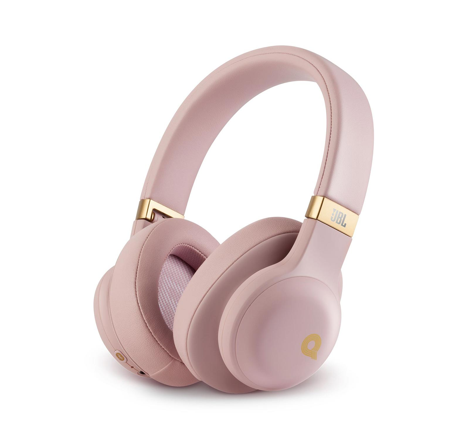 JBL E55BT Dusty Rose Open Box Quincy Jones Edition Wireless Headphones by JBL