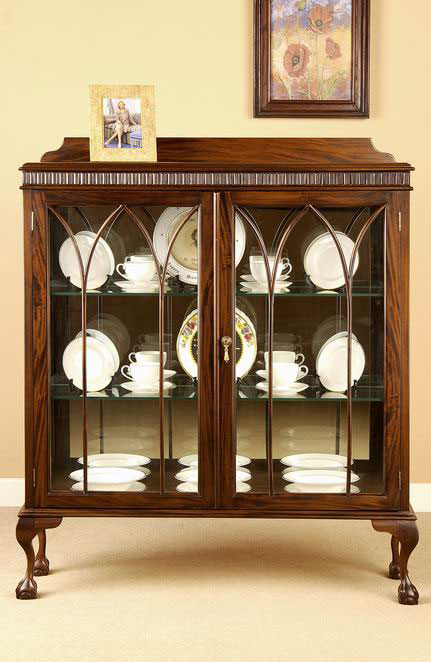 Chippendale China Cabinet by www.laurelcrown.com