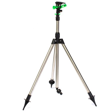 - Adjustable Tripod Impulse Sprinkler Base Pulsating Telescopic Watering Lawn Yard telescopictripodimpulse and Garden 1/2'' Internal Thread