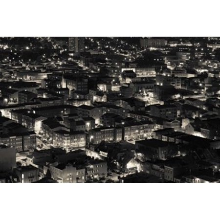 Little Italy Baltimore Maryland Canvas Art - Panoramic Images (18 x