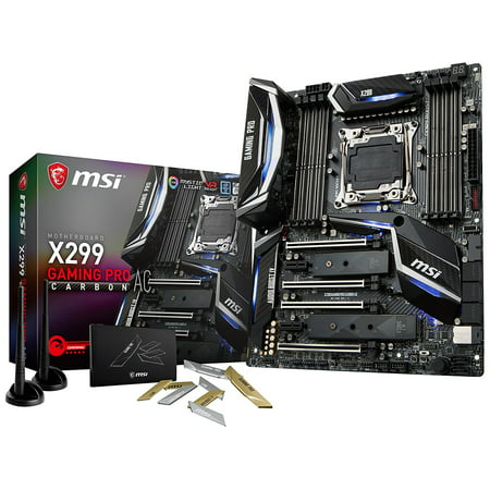 MSI Motherboard X299 GAMING PRO CARBON AC