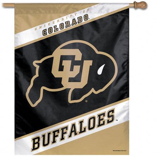 NCAA - Colorado Buffaloes Vertical Flag: 27x37 Banner
