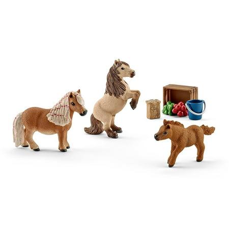 Schleich - 41432 | Horse Club: Miniature Shetland Pony Family - image 1 de 1