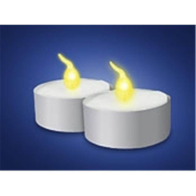 MAXSA Innovations 51012 Flameless Battery-Powered Tea Lights