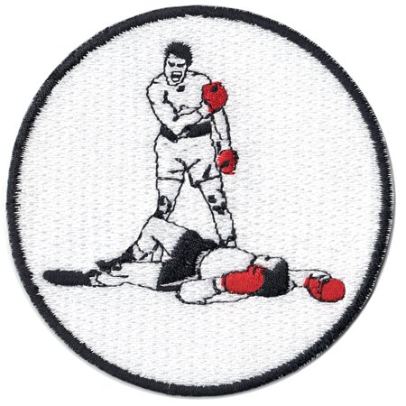 Boxing Legend (Boxing Legend Best Knockout Embroidered Iron On Patch)