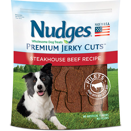Nudges Steakhouse Beef Fillets Jerky Dog Treats by Generic
