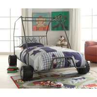 ACME Xander Go-Kart Metal Tube Car Bed, Twin, with Slat System, Multiple Colors
