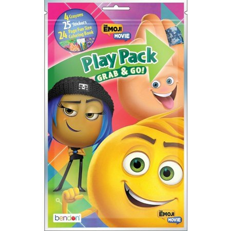 Play Pack Grab And Go (Emoji Movie Grab and Go Play Pack Party)