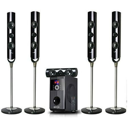 beFree Sound 5.1 Channel Bluetooth Surround Sound Speaker System by