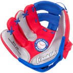 "Franklin Sports Air Tech 9"" Baseball Glove, Left-Handed Thrower"