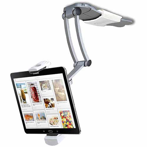 2-in-1 Kitchen Mount Stand for iPad Air, iPad mini, Surface, & Other 712 Inch Tablets