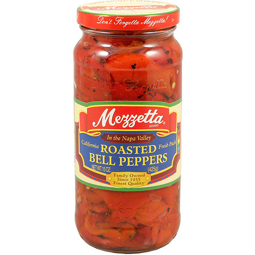 Mezzetta Roasted Bell Peppers, 16 oz (Pack of 6)