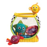 Lamaze My First Fishbowl Plush Baby Learning Toys