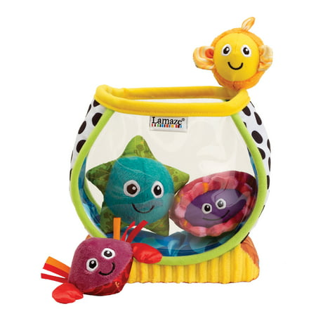 Lamaze My First Fishbowl, Plush Baby Learning Toys